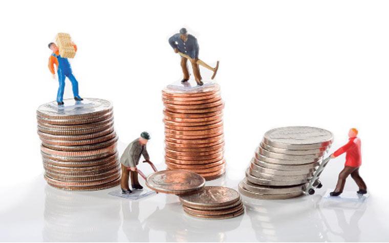 Podatki o plačah po mesecih