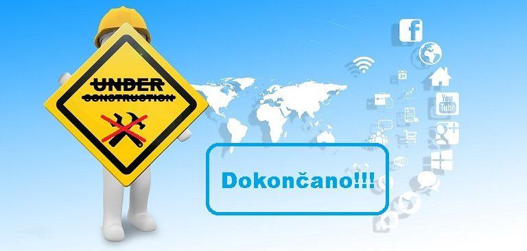 CONVEX d.o.o., Ljubljana ima prenovljeno spletno stran
