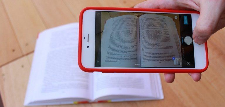 Skeniranje dokumentov s pomočjo mobilnega telefona